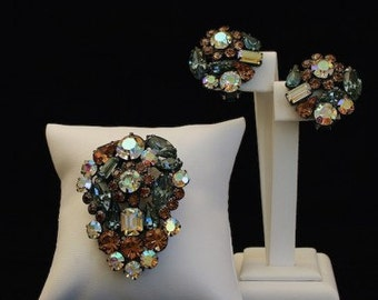 Weiss Vintage Daisy Jewellery Set