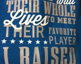 Favorite Player Hoodie - Applies to all sports, ringette, hockey, soccer, football, lacrosse, too many to mention