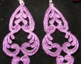 Jessie Embroidered Earrings