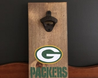 Greenbay Packers Bottle Opener / CHOOSE ANY TEAM