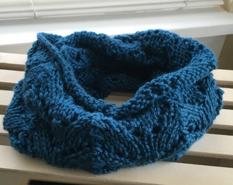 Infinity Scarf - Teal Blue