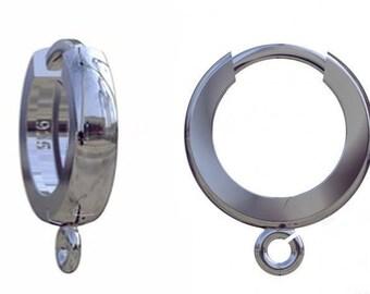 925 Sterling Silver Earring Hooks Earwires (BZ2)
