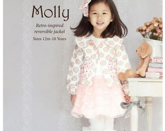 Molly Child's Clothing Pattern from Violette Fields