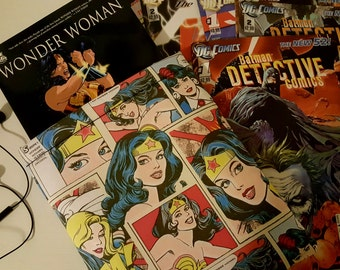 WONDER WOMAN Book Sac
