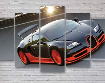 bugatti veyron etsy. Black Bedroom Furniture Sets. Home Design Ideas