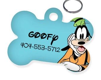 Disney Goofy Custom Personalized Pet Tag for Dog