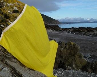 Quirky Q Signal Flag. Huge Nautical Flag. Coastal Theme