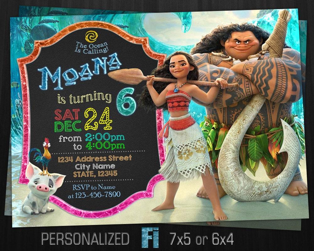 moana invitation template free - moana invitation moana birthday party moana birthday