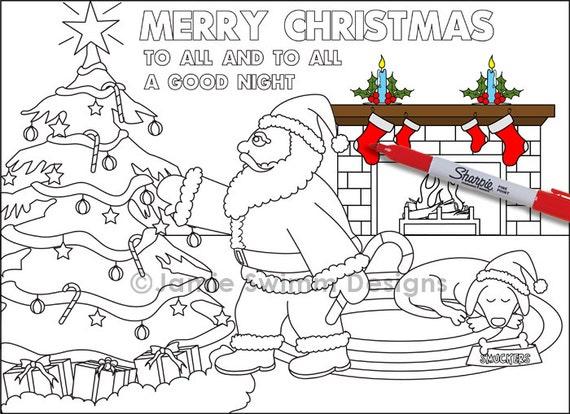 Erfreut Druckbare Farbseiten Weihnachten Zeitgenössisch - Ideen ...