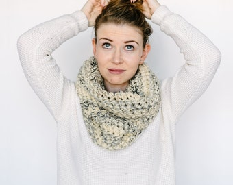 Cowl Scarf // in MARBLE