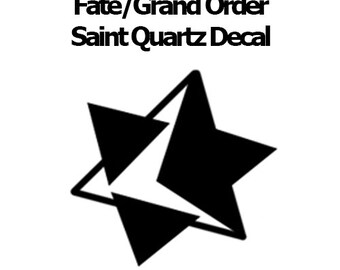 Fate/Grand Order Saint Quartz Vinyl Decal