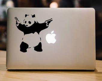 Laptop Stickers Banksy Panda Laptop Decal Macbook decal Laptop Stickers Vinyl Decal Graffiti Decal Laptop Decal Macbook Decal Vinyl Decal 98