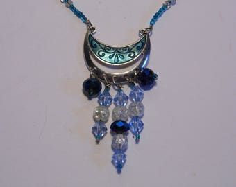 Pretty Gypsy Moon Necklace -Priority Shipping World Wide! More Jewelry in Shoppe!