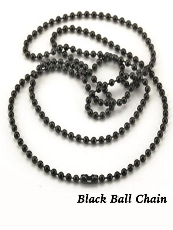 "Ball chain, 24"", Black  +Discounts & FREE Shipping*"