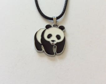 Panda necklace / panda jewellery / animal necklace / animal jewellery / animal lover gift