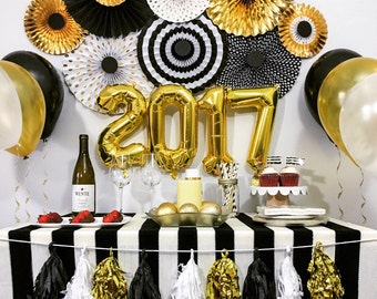New years eve decorations etsy for 15 years party decoration