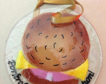 Porkroll Suncatcher / Ornament