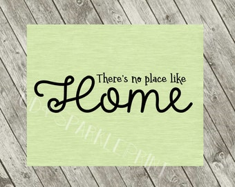 No Place Like Home Print