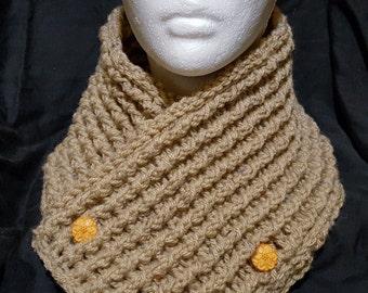 Crochet Rustic Chunky Neck Warmer