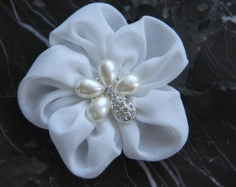 Hair Flower Clip/ Bridal Flower Hair Clip/ Wedding Hair Accessories/ Wedding Hair Flower Clip/ Bridal Headpiece/ Hair Piece Wedding