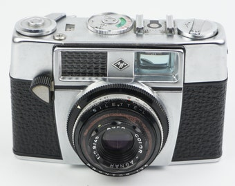 Agfa Silette-L Camera with Agfa Color-Agnar 45mm f/2.8
