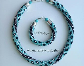 Set Turquoise (necklace and bracelet)