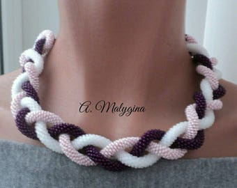 Lariat of beads