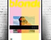 Frank ocean blonde poster merch frank ocean album art blonde poster frank ocean art frank ocean blonde frank ocean album print poster