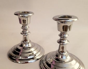 Titanium Pigment Corporation Candleholders as a Marketing Model - Made in 1920's