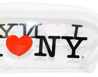 I Love New York Cosmetic Bag- Choose between four styles