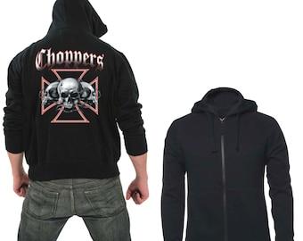 Zipper hoodie Choppers