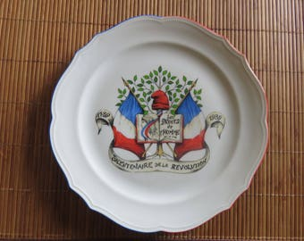 Bavaria Collection Plate - The Commemoration of the French Revolution - Human Rights