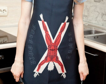 Kitchen apron | Game of thrones inspired | House of Bolton | GOT inspired |Chef Apron| Funny Cooking | mens gifts | grilling accessories