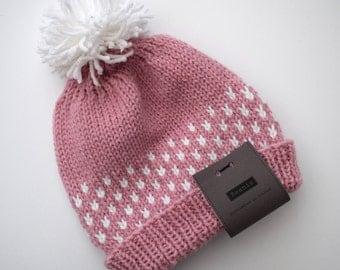 Knitted Women's Bobble Hat
