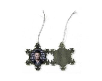 Supernatural Jensen Ackles Dean Winchester Christmas Ornament