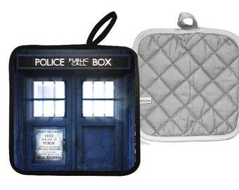 Doctor Who Tardis Pot Holder