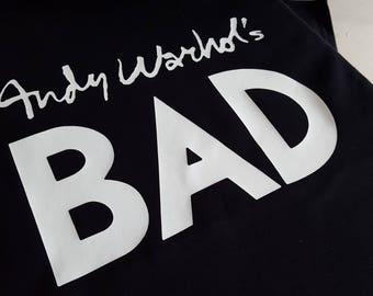 Worn By Debbie Harry of Blondie - Andy Warhols Bad New T-Shirt Great Fancy Dress design - Classic Rock Shirt