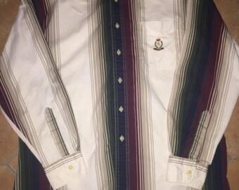 Chaps Ralph Lauren striped button up