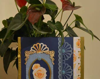 Greeting card, Anniversary, Luxury Handmade Card
