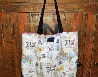Handmade Paris Market Bag