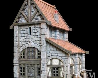 Medieval house 5 (ech 30mm, resin kit)