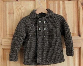 Baby boy jacket, Baby Knit, Baby boy cardigan, Baby boy knit, Hand knit, Baby sweater, baby boy