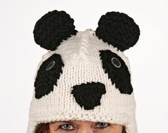 Mützentier - UNIQUE - funny hat in Panda form