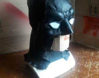Batman cowl,comic style batman full cowl with removable white eyes