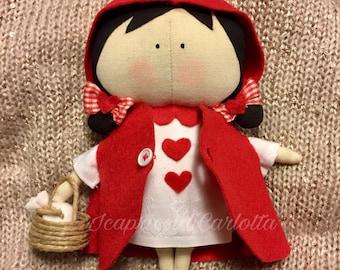 Bambola Cappuccetto Rosso