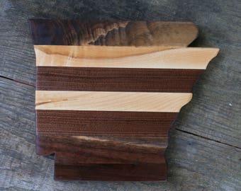 Arkansas-shaped Cheeseboard