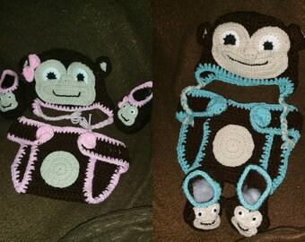 Monkey baby sets