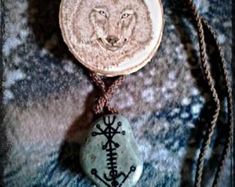 Úlfsvard Amulet Pendant