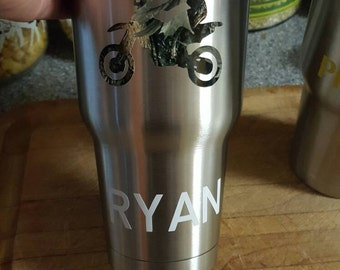 Personalize a mug or travel cup
