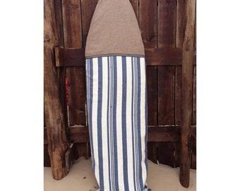 Surfboard bags by KAI - Blue stripes
